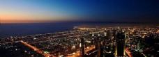 城市夜景风景海报