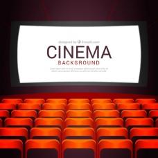 电影的背景与扶手椅