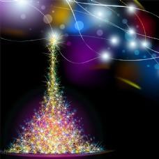 圣诞节彩灯礼物主图