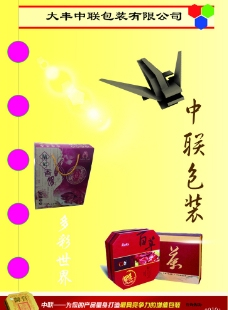 中联包装画册图片