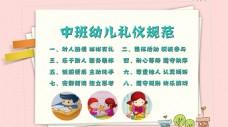 幼儿园园内礼仪规范