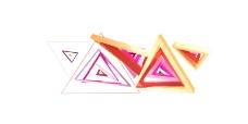三角视频素材