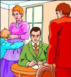 家庭生活 生活写真 矢量 EPS格式_0001