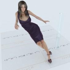 女性模型图片
