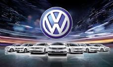 大众全系列汽车宣传海报设计psd素材