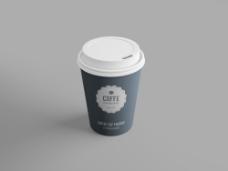 空白咖啡杯果汁杯水杯PSD模板-.psd