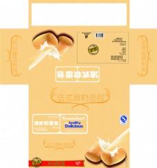 面包食品彩盒