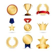 时尚 金杯奖杯图片