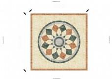 水刀地面瓷砖拼花雕刻6