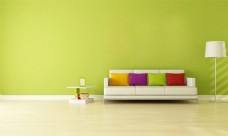 色彩客厅图片