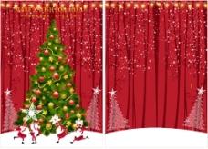 圣诞节矢量展板