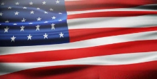 国旗飘荡动画AE模版