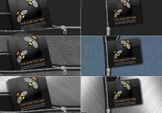 各式拉链拉开的标志展示动画AE工程