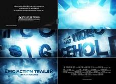 恢宏大气的史诗电影宣传片AE模板