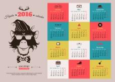 新年日历图片