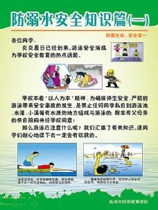 防溺水安全知识展板