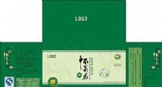 绿色中药盒子图片
