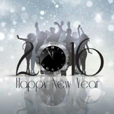 新一年党的银背景