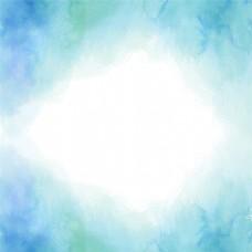 蓝色梦幻水彩背景
