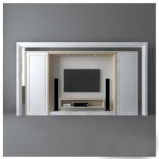 简约时尚电视墙