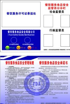 餐饮服务食品安全制度图片