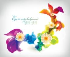 抽象花卉图片