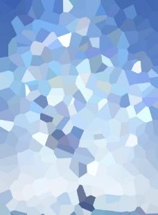 蓝色碎片背景图片