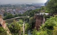 莲花山风景区图片