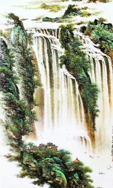 瀑布(不分层)图片