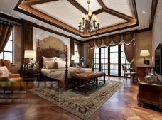 米黄欧式卧室