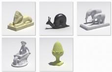 室外模型雕塑3d素材3d模型免费下载