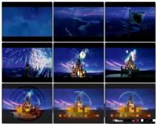 模仿迪斯尼的开场片头动画AE模板