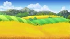 精美田野自然景观矢量素材 (1)