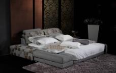 家具 软床图片