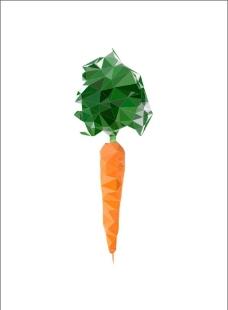 晶格体胡萝卜图片