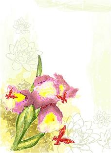花朵与蝴蝶