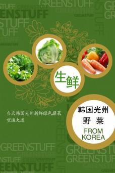 韩国蔬菜广告