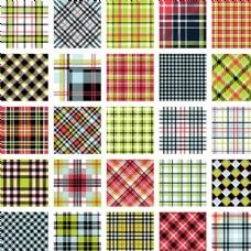 格子布料图案图片
