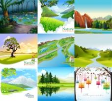 9幅春色风景图