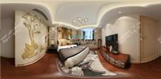 中式卧室模型室内模型