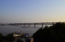夜景 武汉长江大桥图片