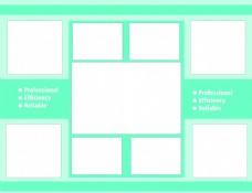 拼图模板免费下载 公司文化 拼图模板 拼图模板 网页设计照片墙 公司文化