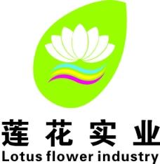 莲花实业logo