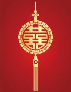 中国结婚礼矢量素材