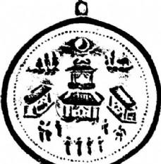 两宋时代 版画 装饰画 矢量 AI格式1061
