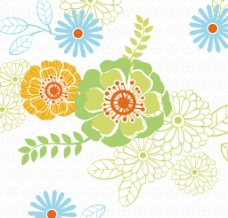 花卉图案设计图片