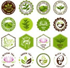 绿色茶叶泰国图标